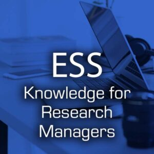 Knowledge for Research Managers
